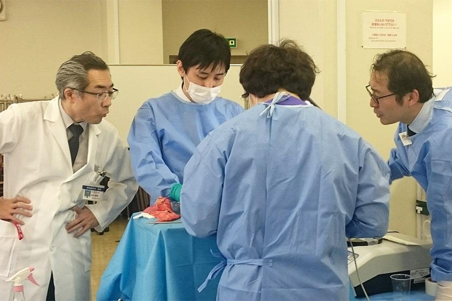 呼吸器外科スキルラボ